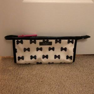 Kate Spade Small Bow Makeup Brush Bag
